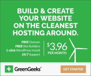 Green Geeks promotion Canada